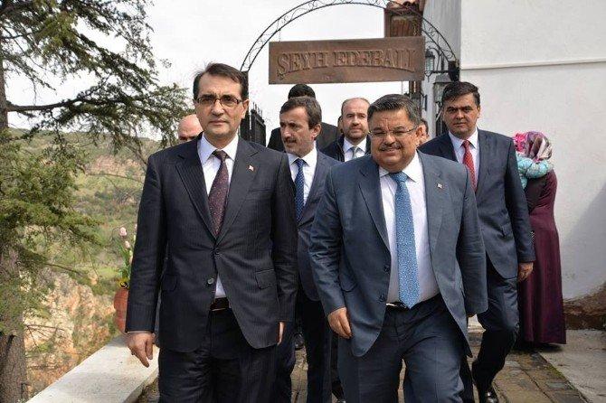 Enerji Ve Tabii Kaynaklar Bakanlığı Müsteşarı Fatih Dönmez'in Memleket Ziyareti