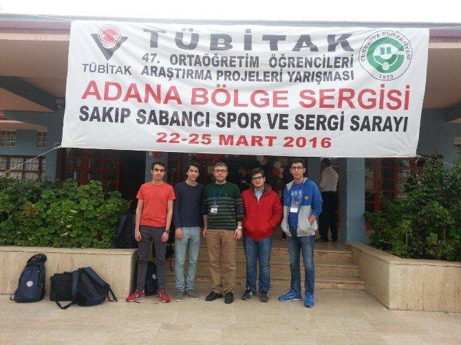 GKV TÜBİTAK'ta Biyoloji Projesiyle Türkiye Finallerinde