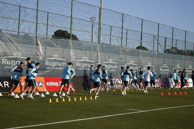 A Milli Futbol Takımı Terim'siz Çalıştı