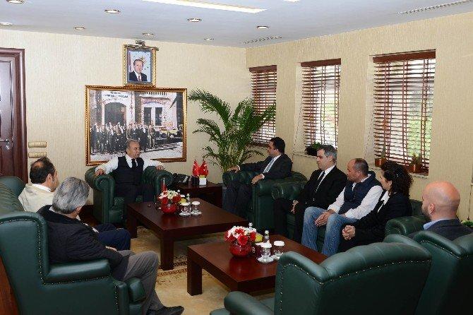 Adana Çiftçiler Birliğinden Vali Büyük'e Ziyaret