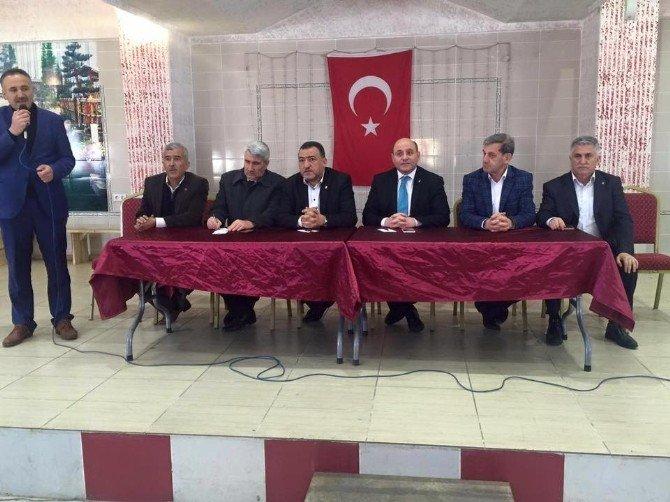 Kuşulular, AK Parti Heyetini Bağrına Bastı