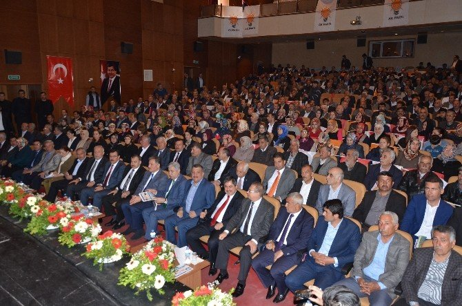 Bakan Eroğlu Ve Tüfekci, AK Parti Malatya Danışma Meclisi Toplantısına Katıldı