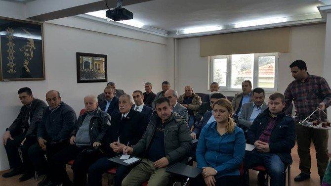 AK Parti Yerel Yönetimler Toplantısı Lapseki'de Yapıldı