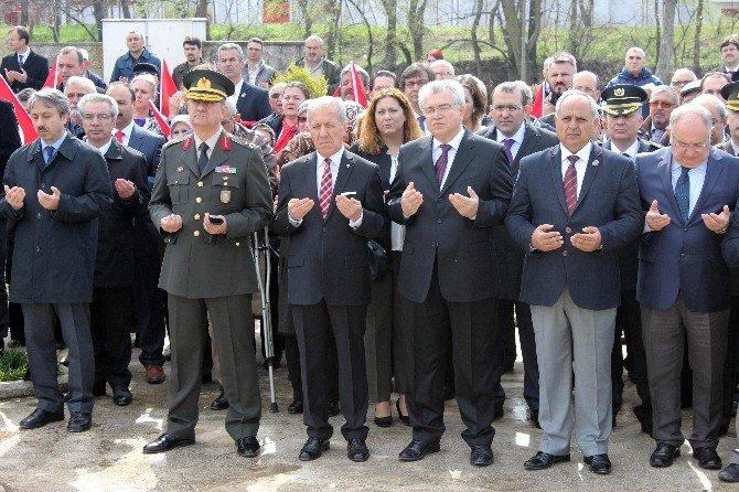 Balkan Şehitleri 103. Yılında Anıldı
