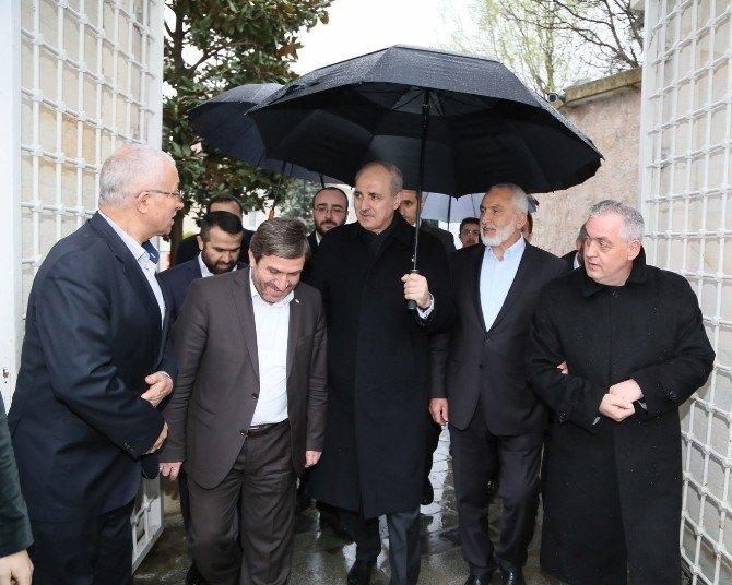 Başbakan Yardımcısı Kurtulmuş'tan, Başkan Aydın'a Özel Tebrik
