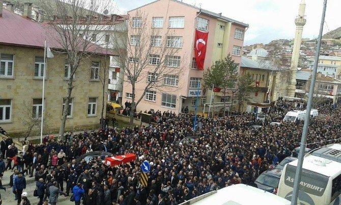 Bayburtlu Şehit Astsubay Üst Çavuş Türkoğlu, Doğum Gününde, Son Yolculuğuna Uğurlandı