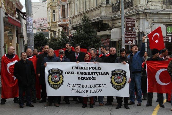 Emekli özel harekatçılar, teröre karşı yürüdü