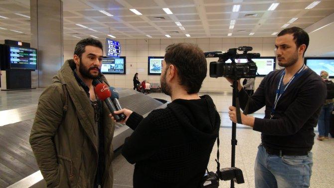 Brüksel'deki Türkler İstanbul'a geldi
