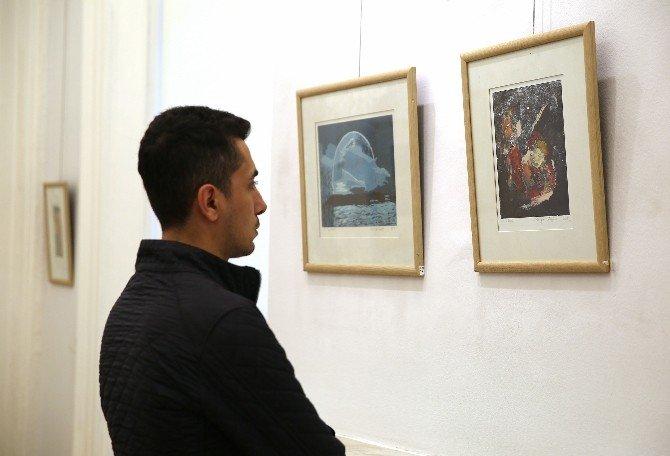 Baskı Resmin Örnekleri Buca'da Sergilendi