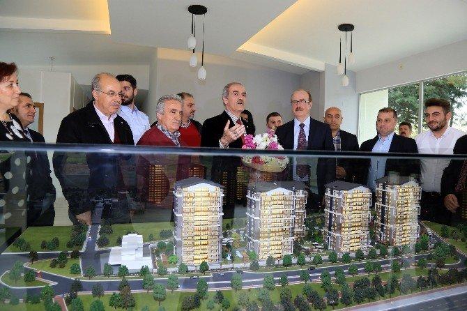 Bursa'nın İlk Kentsel Dönüşüm Sitesinde İnşaat Başladı