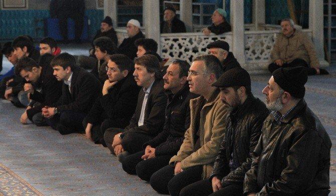 Eskişehir'de Muhsin Yazıcıoğlu Ve Şehitler İçin Mevlid Okutuldu