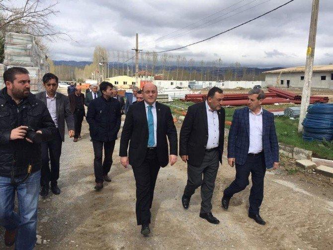 Başkan Ali Çetinbaş Simav'da