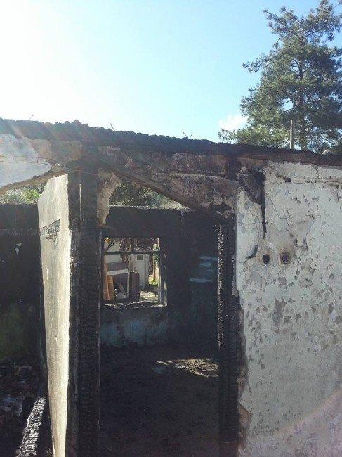 Dalaman'da Ev Yangını