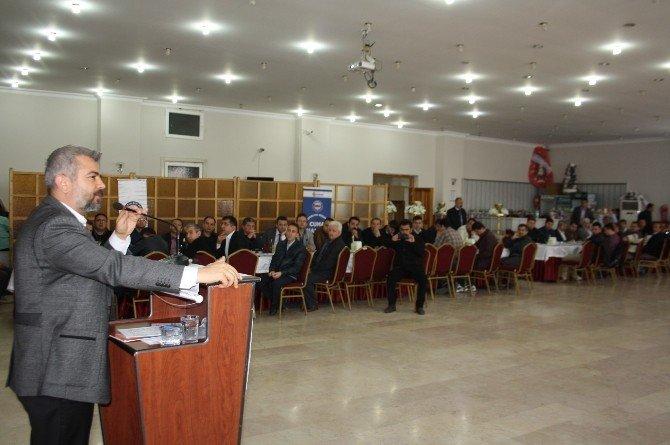 Eğitim Bir Sen Genel Başkan Yardımcısı Olçum Burdur'da