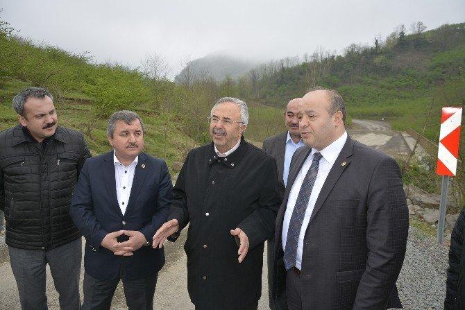 Eski Ulaştırma Bakanı Fatsa'da