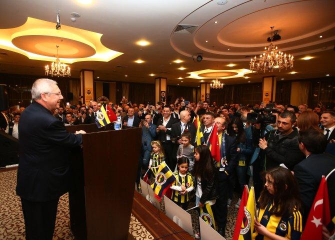 Fenerbahçeliler, 'Hedef 1 Milyon Üye' organizasyonunda bir araya geldi