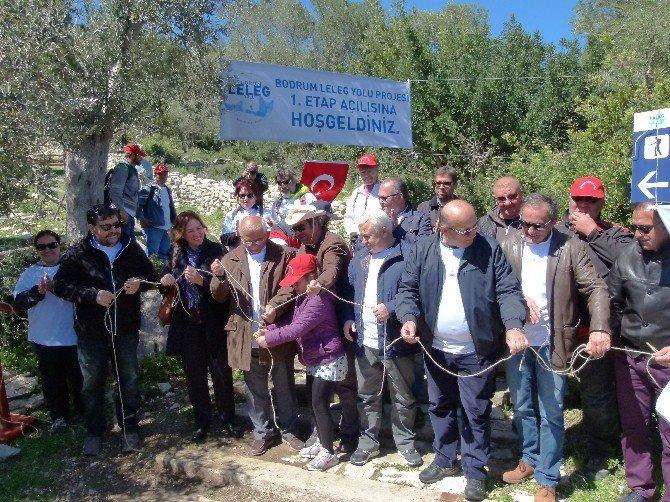 Tarihi Bodrum Leleg Yolu Açıldı