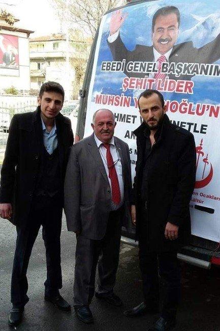 Kütahya'da Muhsin Yazıcıoğlu Ve Şehitler İçin Mevlit Okutuldu