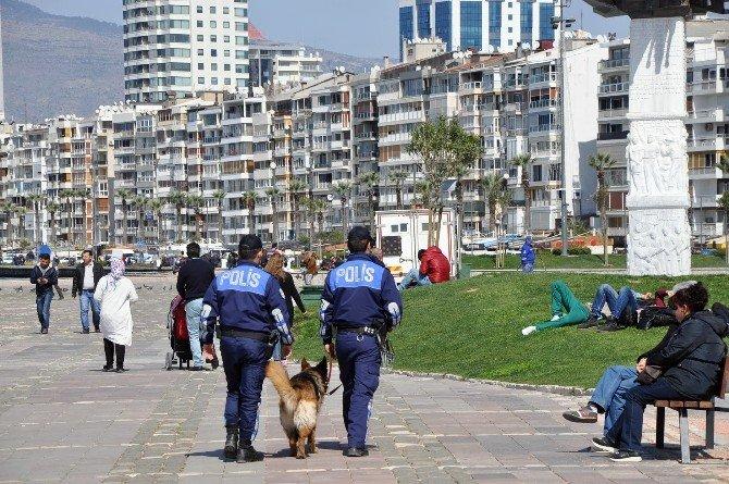 İzmir Sokaklarında Sıkı Önlem