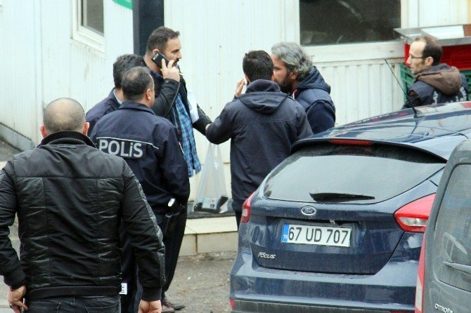 ERDEMİR'de Güvenlik Görevlisi Arkadaşını Vurdu
