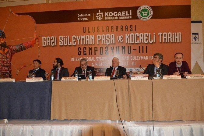 Gazi Süleyman Paşa Sempozyumu Devam Ediyor