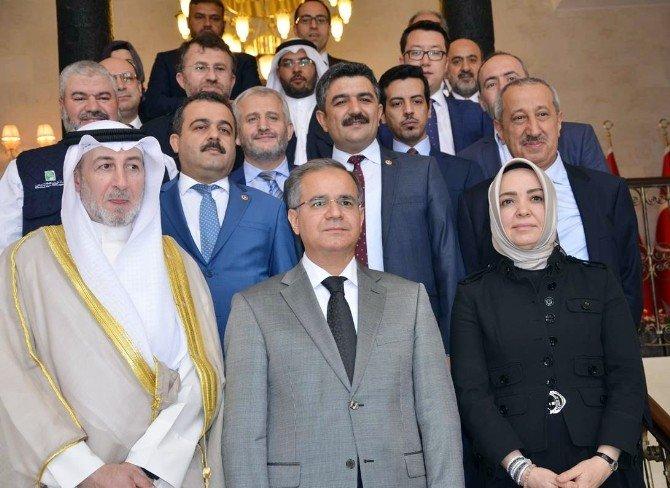 Kuveytli Genel Müdür Hamadahn, Kilis Valiliği Ziyaret Etti