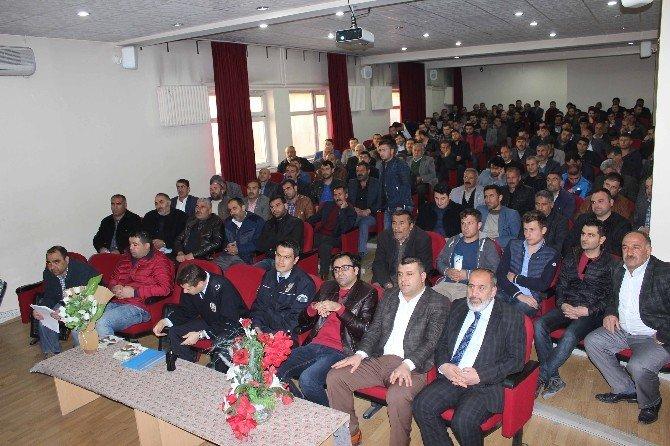 Muş'ta Okul Servisi Taşımacılarına Eğitim Verildi