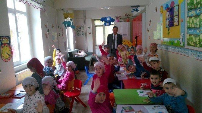 Müftü 4-6 Yaş Grubu Kur'an Kurslarını Ziyaret Etti
