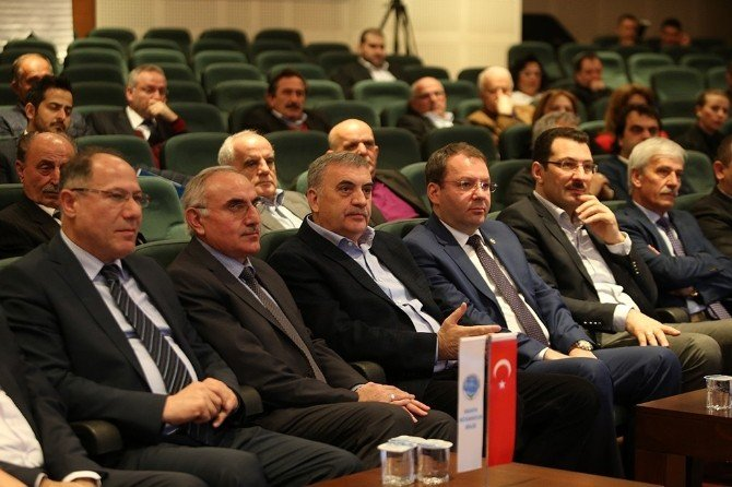 Başkan Toçoğlu Müteahhitler Birliği Genel Kurul Toplantısı'na Katıldı