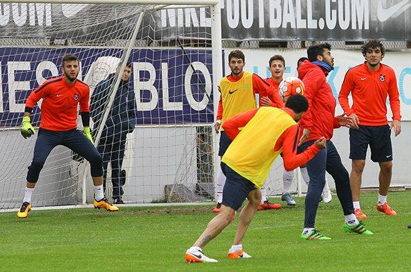 Trabzonspor, Samsunspor maçının hazırlıklarını tamamladı