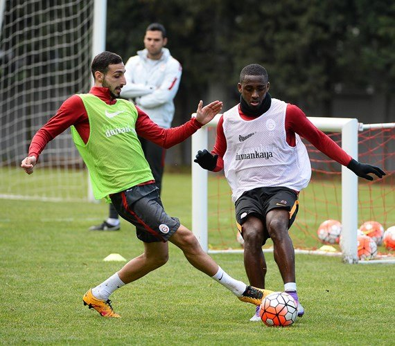 Galatasaray, Eskişehirspor hazırlıklarını sürdürdü