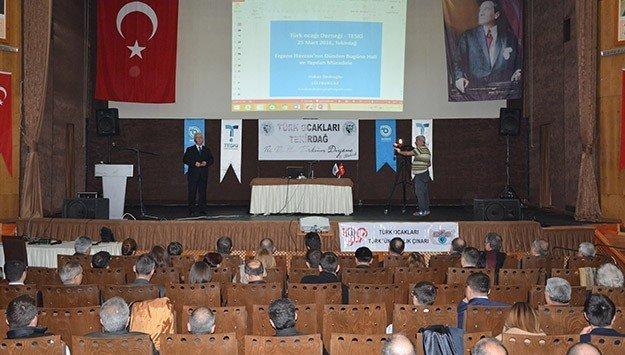 'Ergene Havzasının Dünden Bugüne Hali Ve Yapılan Mücadele' Konulu Konferans Düzenlendi
