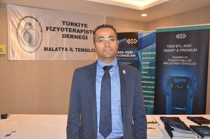 Fizyoterapistler Malatya'da Bir Araya Geldi