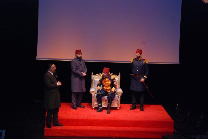 'Gök Sultan Abdülhamid Han' oyununun galası yapıldı