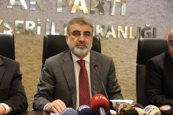 Başbakan Başdanışmanı Ve AK Parti Kayseri Milletvekili Taner Yıldız: