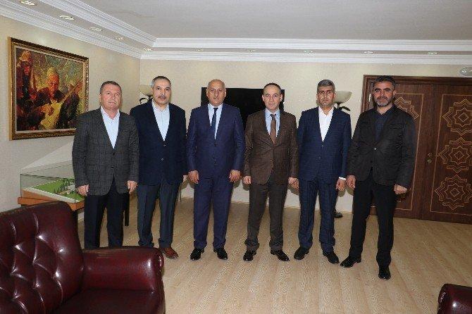 Başkan Işık'tan Kırıkkale Belediyesi'ne Ziyaret