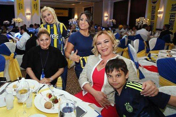 Antalya'da Fenerbahçe Gecesi