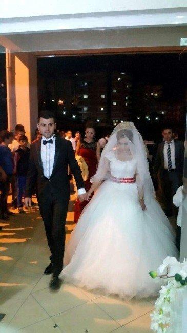 Şehidini Bekleyen Alanya'da Düğün Saygı Duruşuyla Başlayıp Bitti