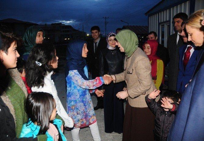 Bakan Ramazanoğlu Van'dan Ayrıldı