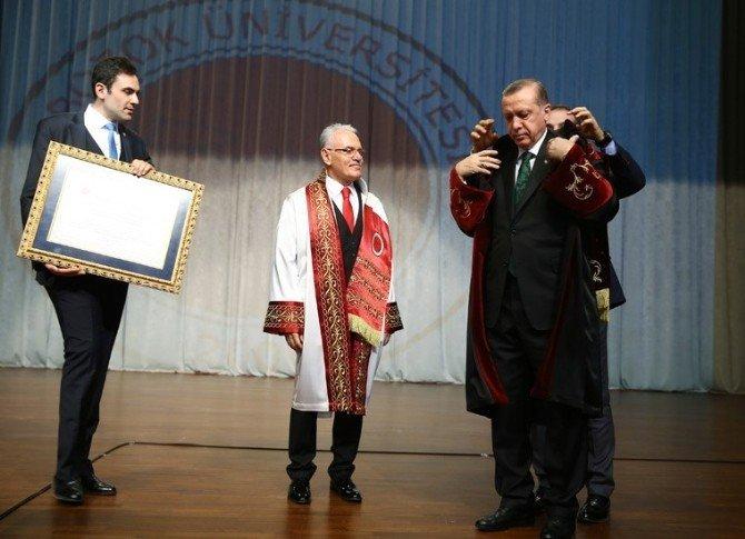 Yozgat Bozok Üniversitesi Rektörü Karacabey, Cumhurbaşkanı Erdoğan'dan Destek İstedi