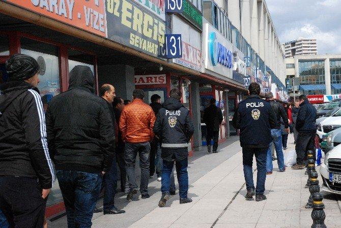 İstanbul Otogarında Şüpheli Çanta Alarmı