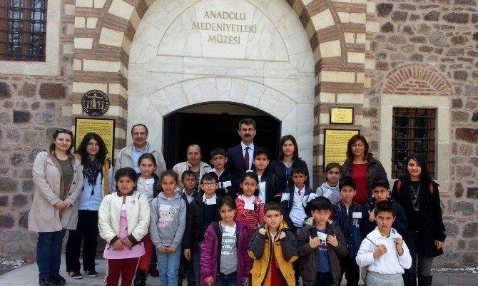 Çankayalı Miniklerden Anadolu Medeniyetleri Müzesi'ne Ziyaret