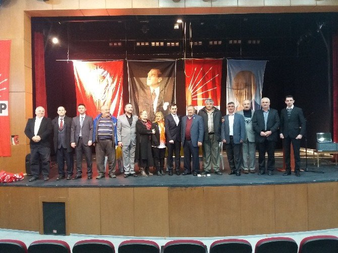 CHP Cide'de Tanıl Gürsoy Başkan Seçildi