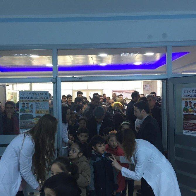 Yozgat Çözüm Koleji'nin Bursluluk Sınavı Yoğun İlgi Gördü