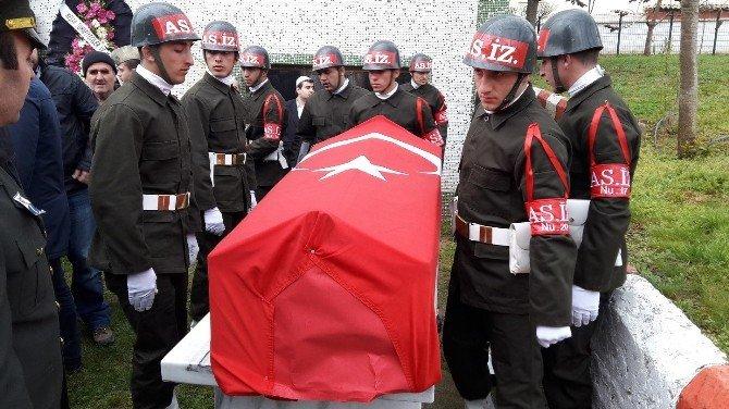 Kıbrıs Gazisi Son Yolculuğuna Askeri Törenle Uğurlandı