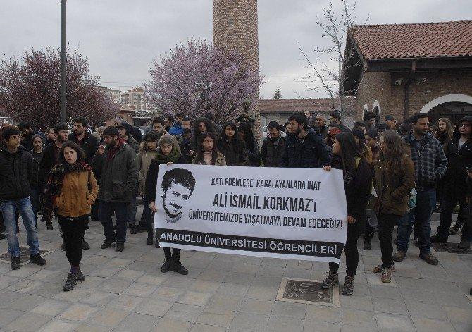 Üniversite Öğrencilerinden 'Ali İsmail Korkmaz' Protestosu