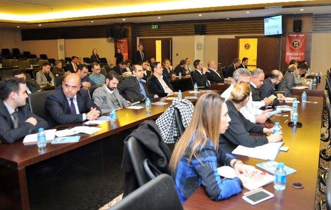 """GSO'da """"Sanayide Enerji Verimliliğinin Arttırılması"""" Toplantısı Yapıldı"""