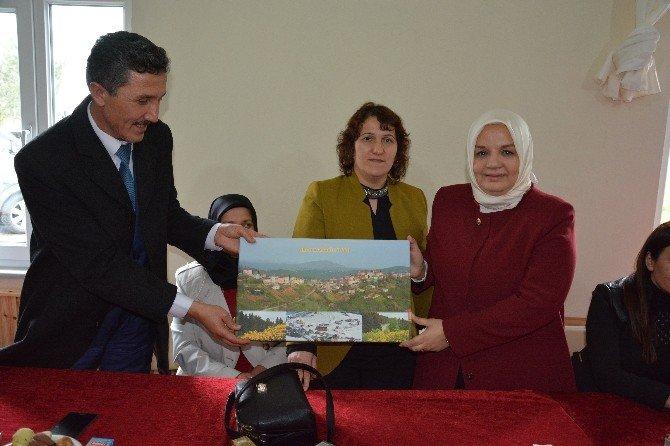 Milletvekili Keşir, Kabadüz'ü Ziyaret Etti