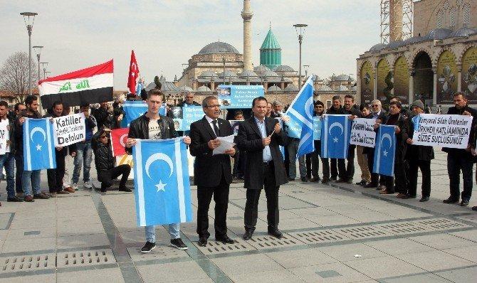 Tazehurmatu İçin Türkmenlerden Yürüyüş