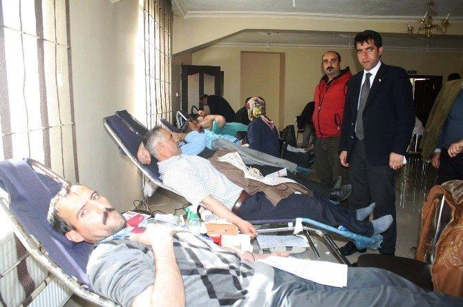 Mehmetçik'ten Kan Bağışı Kampanyasına Destek